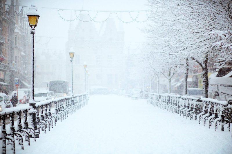 Poezii pentru copii - Ninge