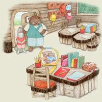 Poezii pentru copii - Bătrâna doamnă Pădure...