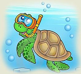 Poezii pentru copii - Broasca ţestoasă cea fermecată