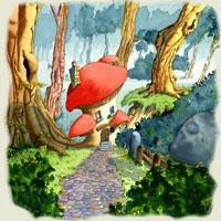 Poezii pentru copii - Căsuţa din pădure