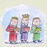 Poezii pentru copii - Cei trei fraţi împăraţi