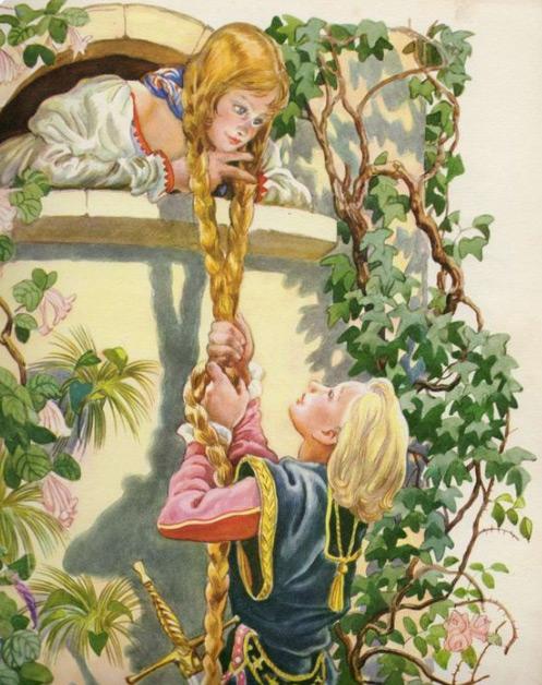 Poezii pentru copii - Rapunzel