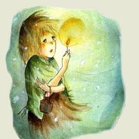 Poezii pentru copii - Fetiţa cu chibrituri
