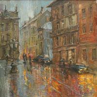 Poezii pentru copii - Oraşul cu ochii de ploaie