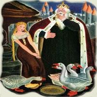 Poezii pentru copii - Păzitoarea de gâşte
