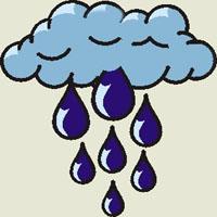 Poezii pentru copii - Ghicitoare despre ploaie