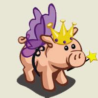 Poezii pentru copii - Porcul cel fermecat