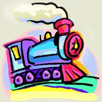 Poezii pentru copii - Ghicitoare despre tren