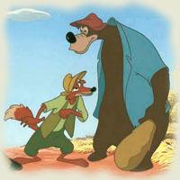 Poezii pentru copii - Ursul păcălit de vulpe