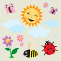Poezii pentru copii - Ghicitoare despre vară